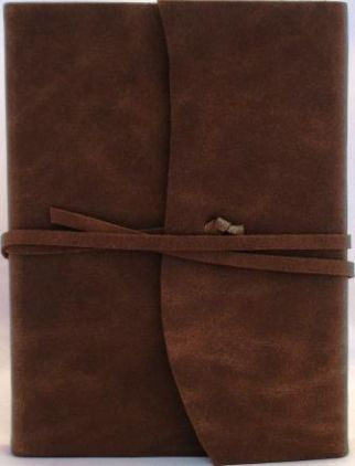 Amalfi Chocolate Leather Journal